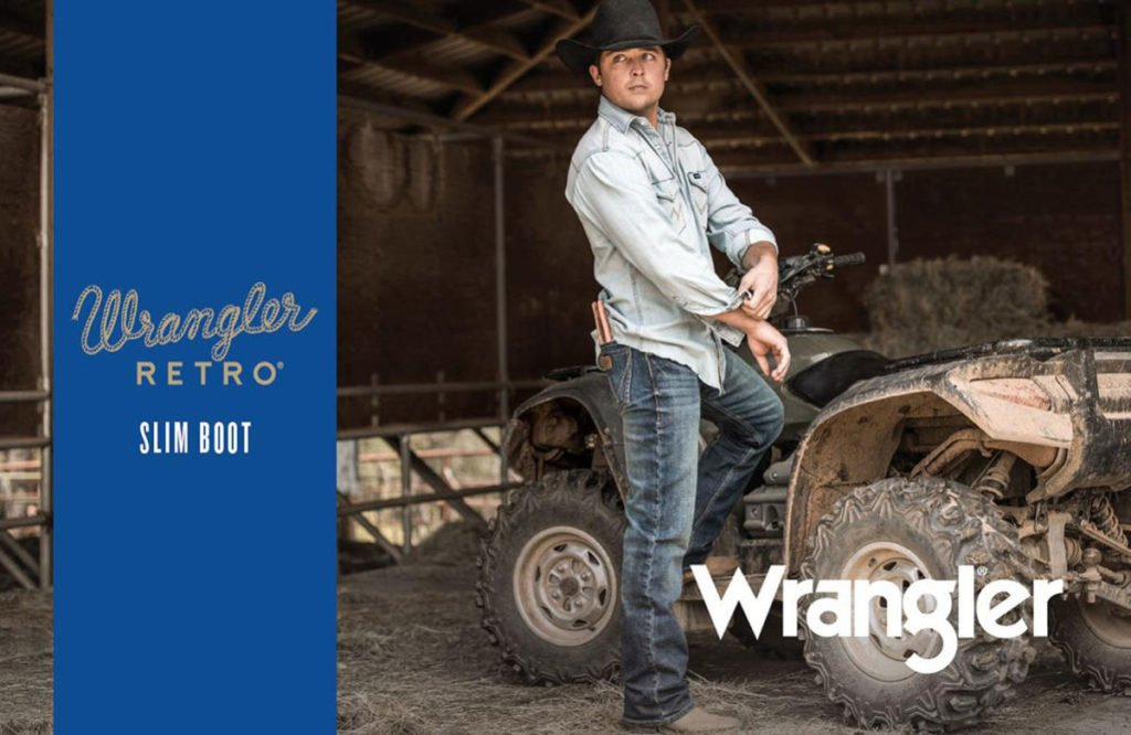 Buy 2 Get One Free Wrangler Retro Slim Fit Jeans & More
