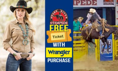 Buy Wrangler Get FREE Tickets to Snake River Stampede 2019!