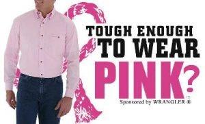 Wrangler Tough Enough to Wear Pink