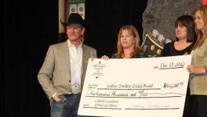 PRCA Karl Stressman Tracy Hedeman Justin Boots Cowboy Crisis Fund