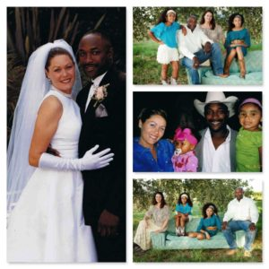 Fred Whitfield Family Collage
