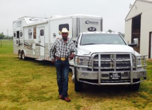 Fred-Whitfield-and-Ram-Truck-with-Cimarron-Trailers