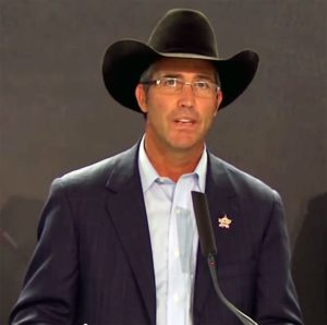 """""""We are very proud to announce the largest, richest, one-day rodeo in history."""" - Randy Bernard (Former CEO of Rural Media Group)"""
