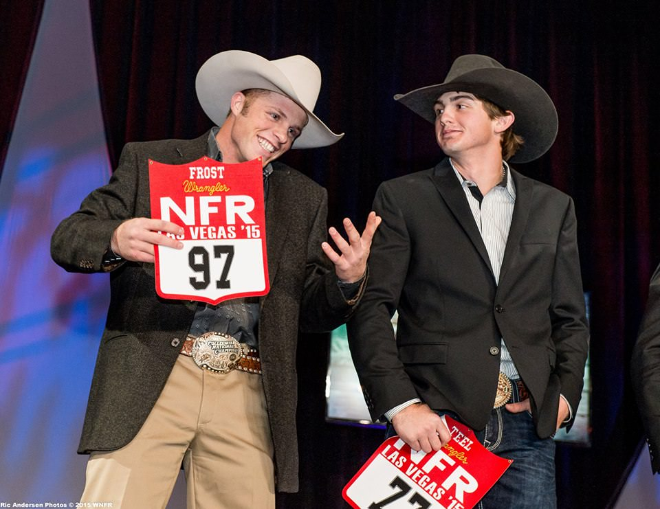 Joe Frost (RNCFR Champion) & Cody Teel (PRCA World Champion)