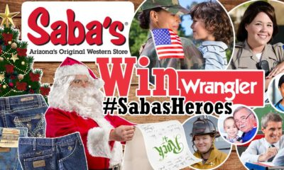 Win Wrangler Jeans for You & Your Hero This Christmas! #SabasHeroes