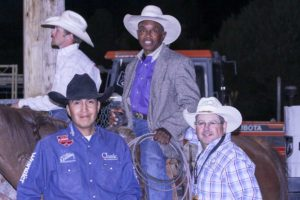 """Derrick Begay, Charlie Sampson and Patrick """"OD"""" O'Donnell"""