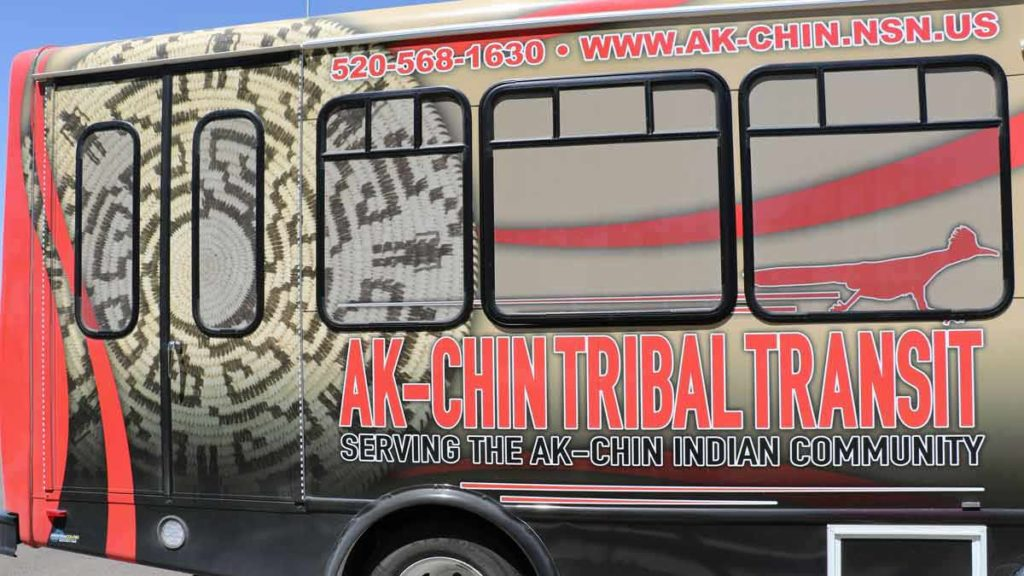 Ak-Chin Indian Community Tribal Transit (Courtesy of The Runner)