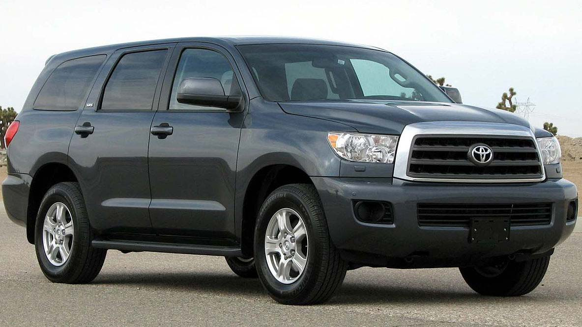 Toyota Sequoia offers ample space, off-road fun