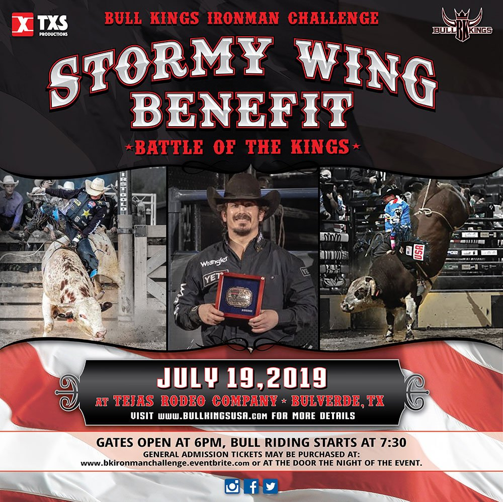 Bull Kings Ironman Challenge - Stormy Wing Benefit Invitational 2019