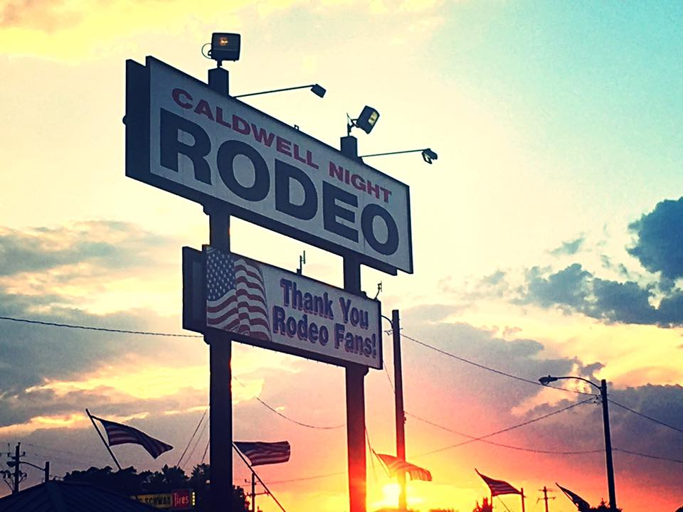 Caldwell Night Rodeo Billboard